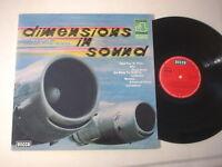6105) LP - Dimensions in Sound - Black + Londoner Festival Orchester - DECCA