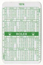 1974 1975 VINTAGE ROLEX GREEN CALENDAR 1016 6263 1665 5514 6265 1680 1655 1803