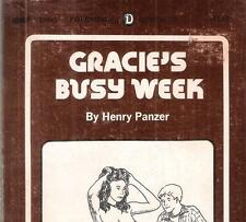 HENRY PANZER (DEAN KOONTZ) - GRACIE'S BUSY WEEK aka 'SHARE THE WARM FLESH' 1974