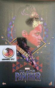 Hot Toys Marvel Black Panther Shuri MMS501 1/6 Scale Sideshow Disney MIB