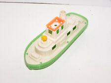 Vintage Processed Plastic, Amloid Timmee Bath Tub ToyTug Boat 60's 7'' Long