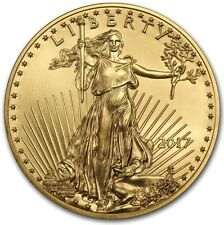 2017 1/10 oz Gold American Eagle $5 Coin Brilliant Uncirculated