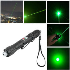 Professional Powerful Green Light Laser Pointer Pen Lazer High Beam New