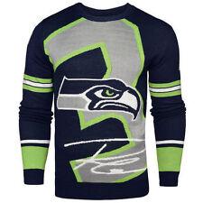 free shipping 518b1 b54dd Seattle Seahawks Fan Sweaters for sale | eBay