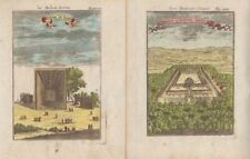 1685 Two Mallet Engravings of Egypt