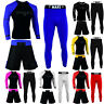Max5 No Gi Wear BJJ Grappling Rash Guard MMA Short Compression Leggings 3Pcs Set