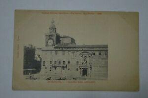 Cartolina Bologna palazzo del governo (prima dei restauri)