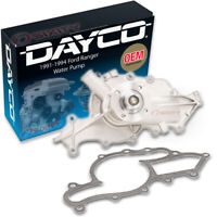 Dayco Water Pump for Ford Ranger 1991-1994 3.0L V6 - Engine Tune Up Accessor yk