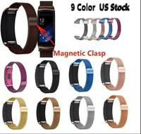 US Milanese Magnetic Loop Stainless Steel Band For Samsung Gear Fit 2 SM-R360