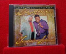 ALEX LEON & NINO SEGARRA -LOS AMIGOS SALSA CD TRIBUTO A FRANKIE RUIZ (2001) MINT