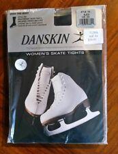 Danskin Women's Skate Boot Cover Tights Ultra Black 704 szC/D BNWT free post