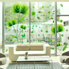 Flower Wall Stickers Leaves Wallpaper Mural Art 3D Decals Decor For Living Room