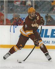 Minnesota Golden Gophers Nick Bjugstad Signed Autographed 8x10 Photo Coa D