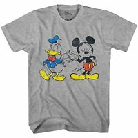 Mickey Mouse Donald Duck Cool Disneyland World Tee Adult Mens Graphic T-shirt