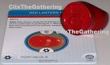 RED LANTERN RING #S302/R302 War of Light DC HeroClix