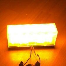 USA Police Code 3 Inc. 6 LED Light amber 12 Volt extrem hell Scene Light T51181