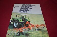 Deutz Fahr KH 300 KH400 KH500 KH600 Rotary Haymaker Dealer's Brochure DCPA2 ver2