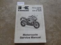 2009 Kawasaki Ninja 650R  ER-6f ABS Service Repair Manual OEM