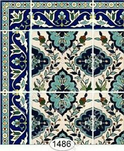 Dollhouse Miniature Wallpaper by Itsy Bitsy- Decorative Tile #1486 1:24 Scale