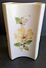 FTD Sado Hand Painted Ceramic Floral Vase Made in Portugal 5 3/4 x 3.5""