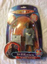 Demonio del mar con calor Ray médico que figura robot gigante y parte Sellado.