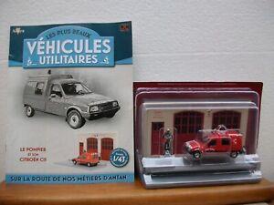 Collection les plus beaux Utilitaires N°34 Caserne Pompiers - Citroën C15