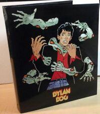 DYLAN DOG quaderno grande cartonato rigido con anelli Auguri di Mondadori 1994