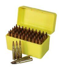 New Ammo Box 50rnd Ammunition Safe Gun Rifle Bullet Case Storage Firearm 243 308