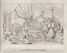 Morte di Raffaello rame 1839