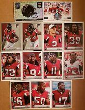 2014 NFL Panini Sticker Collection Atlanta Falcons Football Card Lot