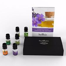 Essential Oil Gift Set with 14 Bottles by The Pure Co. great for Aromatherapy