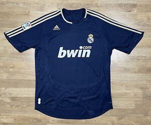 FC REAL MADRID 2007 2008 AWAY JERSEY SHIRT SOCCER FOOTBALL