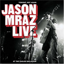 Jason Mraz Live- Tonight, Not Again CD