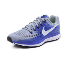 size 40 9258a e1d84 Nike Air Zoom Pegasus 34 Mens Running Shoes Wolf Grey Racer Blue 880555 007