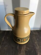 Kiln Craft Bacchus Large Coffee Pot Jug Retro 1970's Vintage Kilncraft