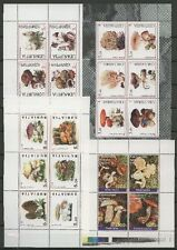 Pilze, Mushrooms - Russia local - 4 Vignetten, Cinderellas MNH