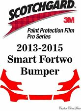 3M Scotchgard Paint Protection Film Pro Series Kits 2013 2014 2015 Smart Fortwo