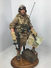 1/6 CUSTOM BBI BRITISH SAS LT. N.AFRICA THOMPSON COLT WW2 OAK STAND DRAGON DID
