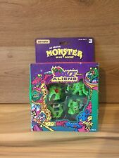 MATCHBOX ORIGINAL MONSTER IN MY POCKET SPACE ALIENS BOXED GREEN 1990's VINTAGE