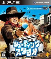 Used PS3 Shooting Studio SONY PLAYSTATION 3 JAPAN JAPANESE IMPORT