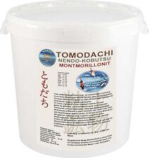 Montmorillonit weißes Teichmineral, Tonmineral, Bentonit weiß für Koi 1kg Eimer