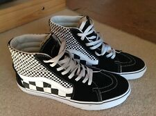 Vans SK8  Black white checkerboard UK 8.5 in VGC