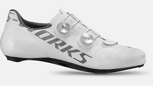 2021 SPECIALIZED S-Works Vent Road Shoes WHITE 44 10.6 Carbon BOA *New In Box*