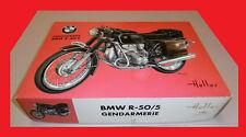 HELLER BMW R-50/5 GENDARMERIE  1/8  VINTAGE RARE  !!!!  réf L992