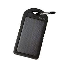 LogiLink solar Power Charger 5000mah schwarz