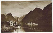 PhC, SMS Oldenburg in Norvegian Fyord, sent via German Marine Fieldpost, 1915