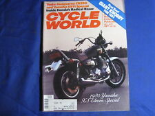 CYCLE WORLD magazine-DEC 1979-HUSKY 390CR-YAM XS1100-SCOTT MX BOOTS-LAGUNA SECA