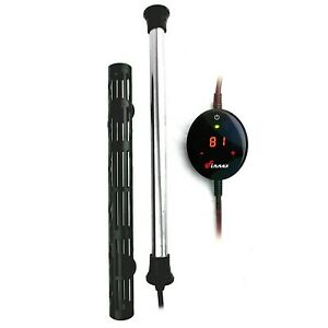 Finnex HMX-200S 200W Aquarium Heater with Touch Digital Temperature Controller