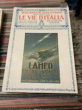 LE VIE D'ITALIA AGOSTO 1921 rivista touring club italiano