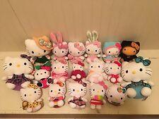 TY Sanrio Hello Kitty 18 Plush Easter Bunny Cupcake Monkey Bat Angel Ice Cream